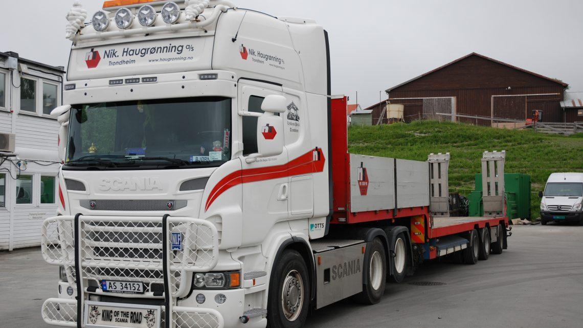 utleier av hengere til lastebil